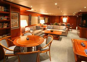lounge luxusyacht heesen 35 balearic islands