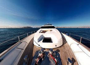 luxusyacht sanlorenzo 82 balearic islands oberdeck