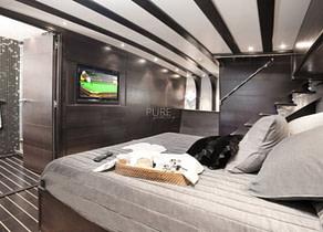 vip kabine luxusyacht navetta 31 balearics
