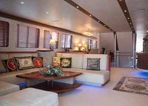 Wohnzimmer luxusyacht heesen 28m heartbeat of life spanien