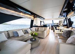 lounge luxusyacht azimut 72 vabosa