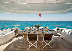 oberdeck luxusyacht maiora 26m lex balearic islands