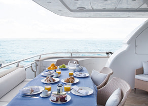 oberdeck luxusyacht maiora 28m sublime mar balearic islands