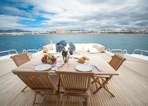 oberdeck luxusyacht dalla pieta 86 double d balearic island