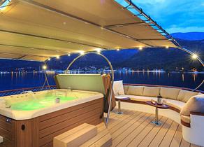 whirlpool luxusyacht donna del mare kroatien