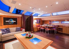 Sailing Yacht A Sulana Saloon