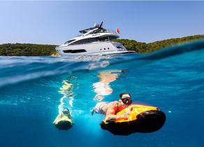 seabob luxury yacht sunseeker 86 rush x Balearen mallorca ibiza