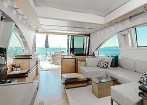 lounge luxusyacht aicon 72 sl manzanos ii balearic islands
