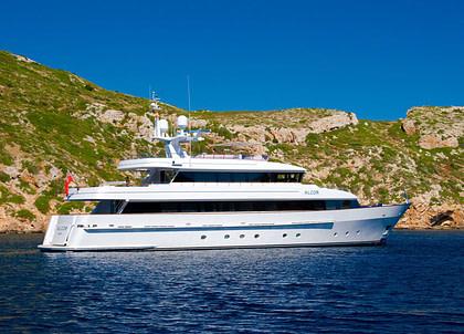luxusyacht heesen 35 balearic islands