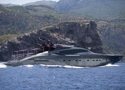 luxusyacht my ascari balearic islands charter
