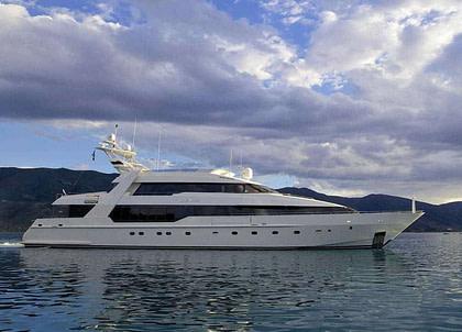 luxusyacht oleanna 145ft Mittelmeer