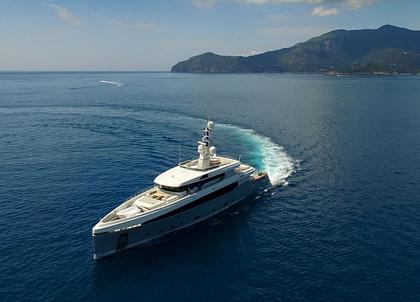 luxusyacht charter aslec 4 westliches mitelmeer