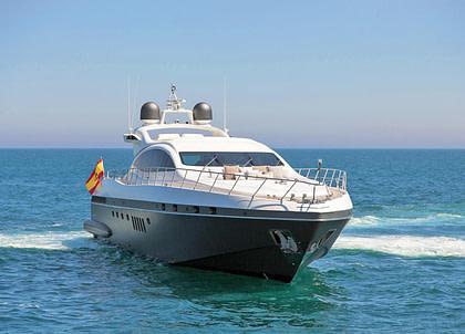 Luxury Yacht mangusta 92 Balearen