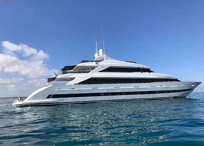 luxusyacht villa sul mare 44m westliches mitelmeer