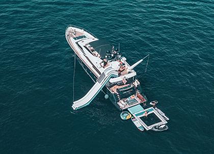 Luxury Yacht lady amanda south france Charter