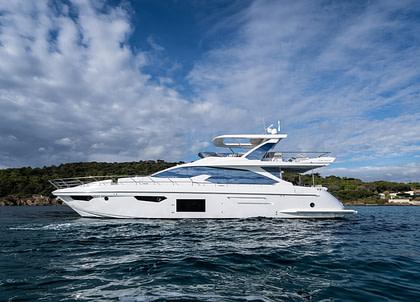 luxusyacht azimut 72 vabosa italien charter