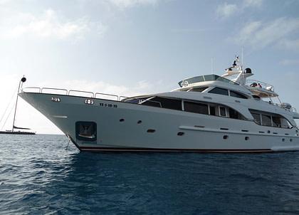 luxusyacht benetti 30m anypa