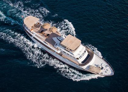 luxusyacht benetti odyssey iii balearic islands