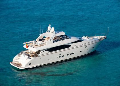 luxusyacht maiora 26m lex balearic islands