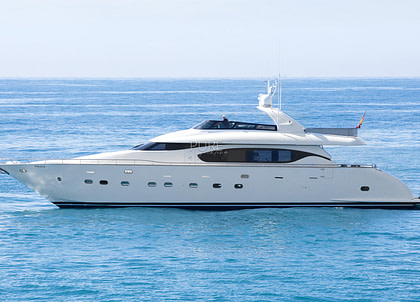 luxusyacht maiora 28m sublime mar balearic islands