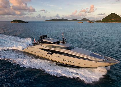 luxusyacht parker johnson 150 andiamo charter bahamas