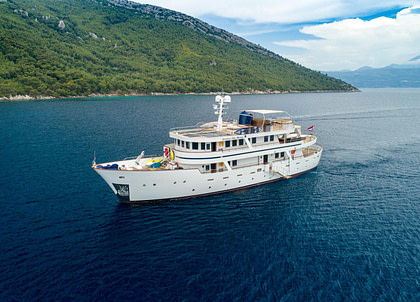 luxusyacht donna del mare charter kroatien