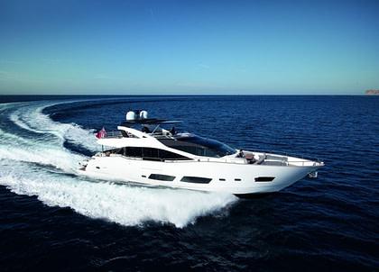 luxusyacht sunseeker 28m high energy suedfrankreich charter