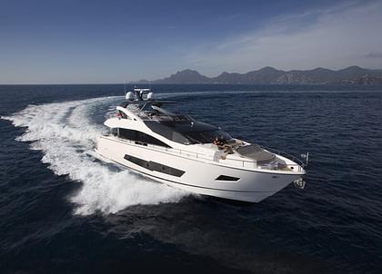 luxusyacht sunseeker 86 blue infinity balearic islands charter
