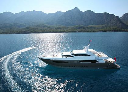 luxusyacht tamsen yachts 40m namaste 8 charter westliches mitelmeer