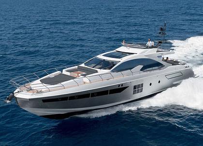 Luxury Yacht azimut 77 makani