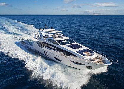 Luxury Yacht azimut 95 memories too griechenland
