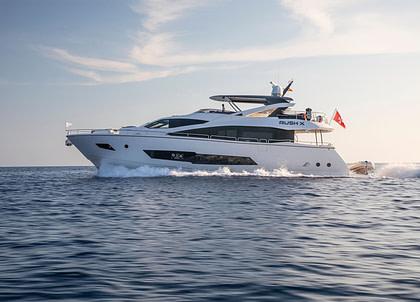 luxury yacht sunseeker 86 rush x Balearen mallorca ibiza