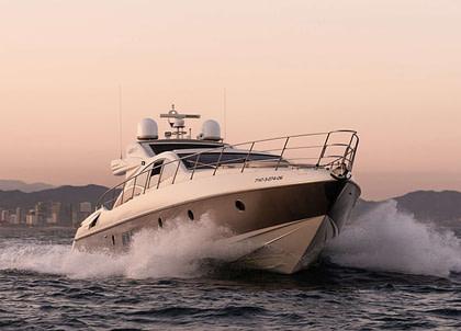 luxusyacht azimut 68s manzanos balearic islands charter