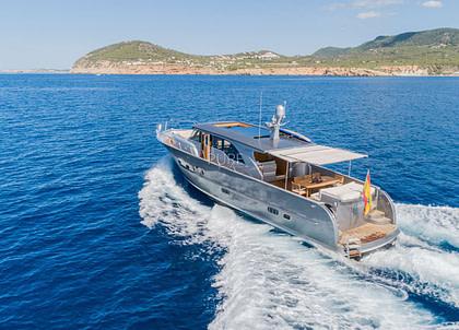 luxusyacht lobster 62 dhamma balearic islands